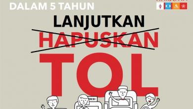 Photo of Najib tolong perbetulkan poster manifesto PH berkaitan hapuskan tol
