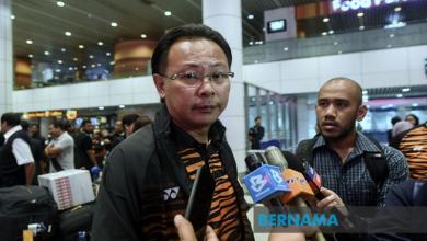 Photo of Kim Swee sah ketua unit pembangunan belia FAM