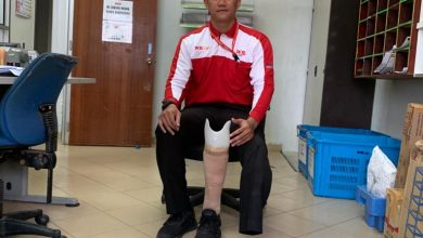 Photo of Posmen putus kaki, bangkit demi keluarga