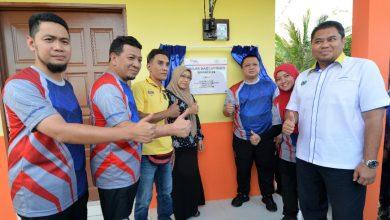 Photo of Raja Muda Perlis berangkat ke Majlis Kesyukuran Projek Baiti Jannati TNB Peringkat Negeri Perlis
