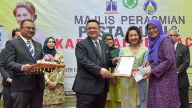 Photo of Raja Muda Perlis rasmi Pesta Buku Perlis