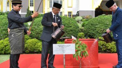 Photo of Tanam pokok Cempaka Kuning simbolik Mesyuarat Majlis Raja-Raja ke-256