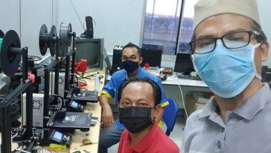 Photo of Pelindung muka dari tepung ubi inovasi UniMAP