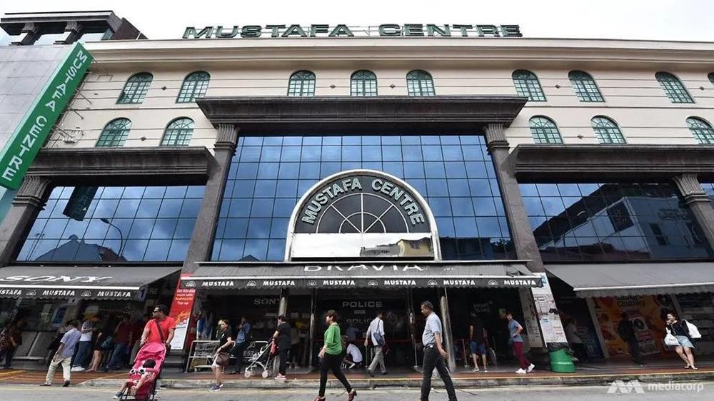 MUSTAFA CENTRE sebuah pusat beli belah yang menjadi kluster baharu jangkitan Covid-19 di Singapura.