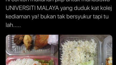 Photo of Mahasiswa tak puas hati makanan PKP tutup akaun Twitter