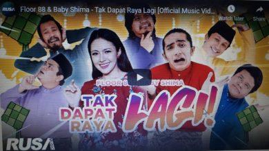 Photo of Tak Dapat Raya lagu raya trending nombor dua di YouTube