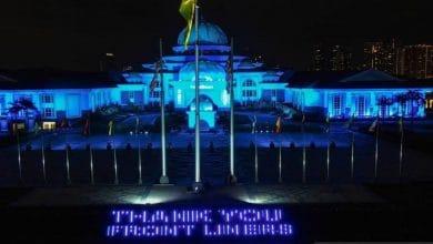 Photo of 'COVID-19 Frontliners Thank You' dipancarkan di Istana Negara