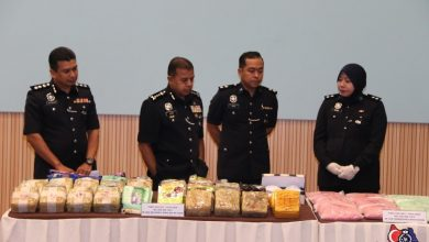 Photo of Satu keluarga terlibat seludup dadah berjumlah RM3.4 juta