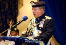 Photo of Sultan Ibrahim beri amaran bubar DUN, kecewa kemelut politik