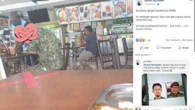 Photo of Frontliners terharu netizen hargai jasa