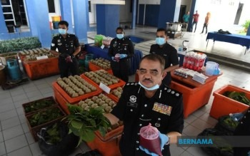 Photo of Polis tahan 13 lelaki, rampas dadah, ketum bernilai RM148,000