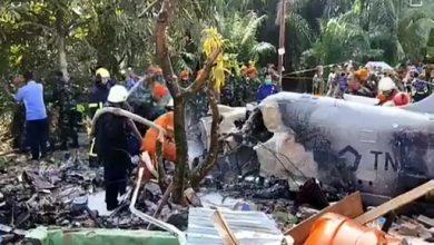 Photo of Pesawat tentera Indonesia terhempas