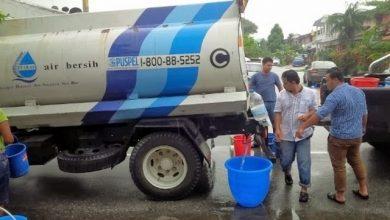 Photo of Gangguan bekalan air empat hari di Lembah Klang