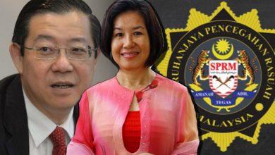 Photo of Betty, isteri Guan Eng ditahan SPRM