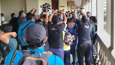 Photo of Guan Eng tiba di mahkamah tidak pakai baju oren