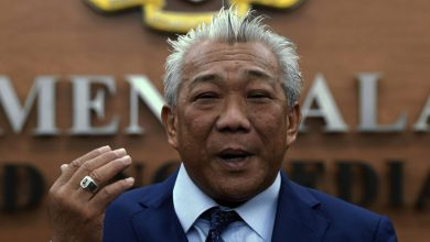 Photo of Bung Moktar bertanding DUN Lamag