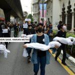 Kerana Kebal 'Wabak', Peserta Perarakan Baju Hitam Wajar Jadi Sukarelawan Di CAC Dan PKRC