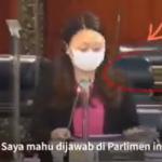 Kerusi kosong bergerak sendiri ketika Hannah berbahas dalam Parlimen